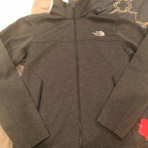 NWTS men's Northface grey jacket sZ small